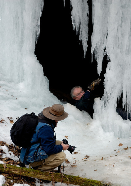 Hocking Hills Winter Shoot
