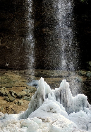 Winter at Hocking Hills