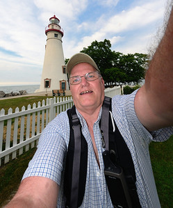 Me at the Marblehead Lighthouse