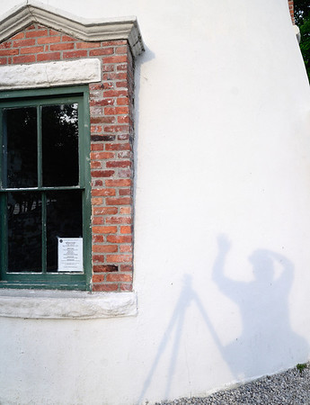 My Shadow at the Marblehead Lighthouse
