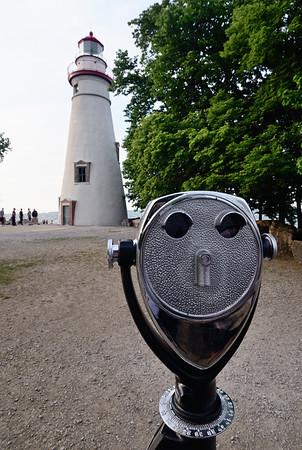 Mrs. Metalhead at the Marblehead Lighthouse