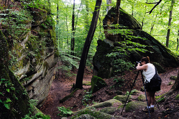 Dona at Nelson Ledges