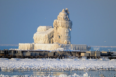 Cleveland' s Frozen Lighthouse