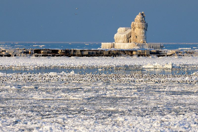 Cleveland's Frozen Lighthouse