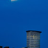 Moon over Cleveland - Wendy Park