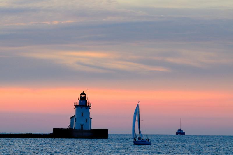 Cleveland Harbor Lighthouse - Wendy Park