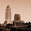 Cleveland - Sepia Toned
