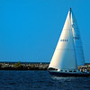 Sail Boat on Lake Erie