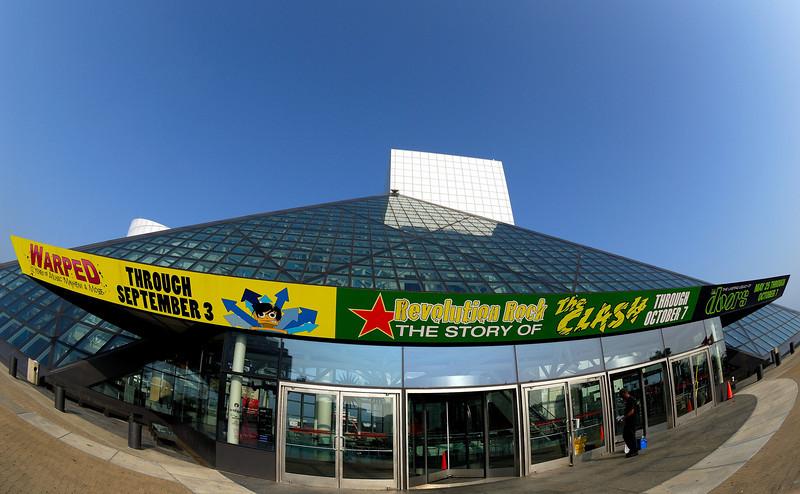 Fisheyed Rock Hall - Cleveland Oh