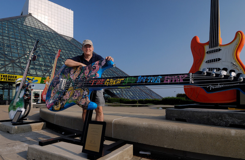 Ron Rocker at the Rock Hall