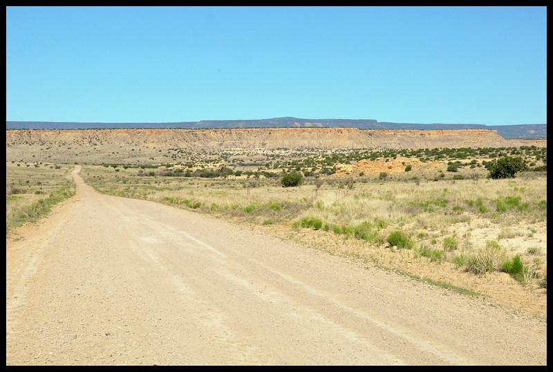 The Road to Ojita Wilderness