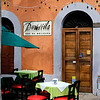 Restaurant in the Plaza Machado - Old Mazatlan
