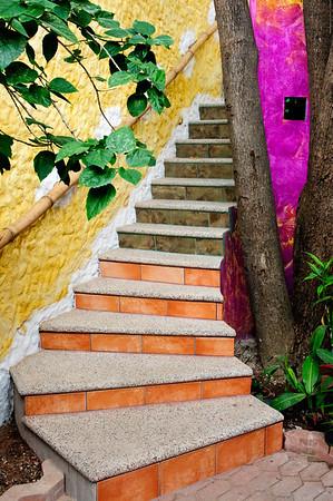 Stairway - Old Mazatlan