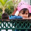 School Girl on a Field Trip to the Plaza Machado - Old Mazatlan, Mexico