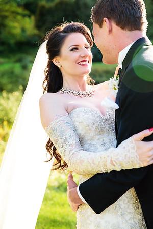 Bride and Groom after wedding | Rayan Anastor Photography | Michigan Wedding Photographer