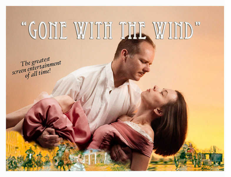 Inspired by the movie poster. We are Southern, you know, so this one was a requirement. ;)