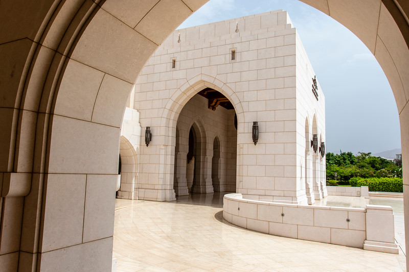 Royal Opera House in Muscat, Oman, Middle East