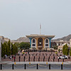 Royal palace of Sultan Qaboosh, Muscat, Oman - Middle East