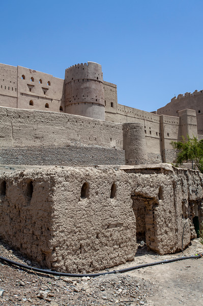 BAHLA FORT. EXTERIOR. [3]