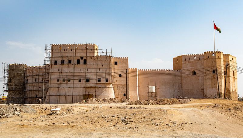 Castle in Barka, Oman - Middle East