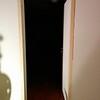 Tein remonttikohteena olleeseen huoneistoon ovenkarmit. Lopulta ne maalattiin valkoisiksi.