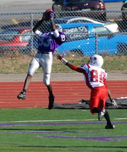 Touchdown catch, October 2012.