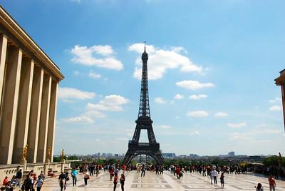 Eiffel Tower, Paris, France. May 2014.