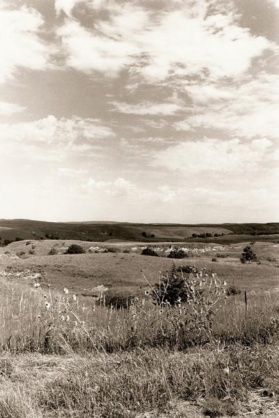 Nebraska Sandhills, summer 1992.