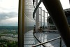 Top of the Deutsche Post Tower. Bonn, Germany, May 2014.
