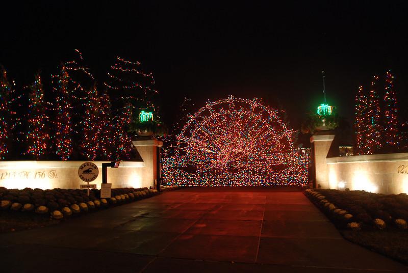 Christmas lights, December 2012.