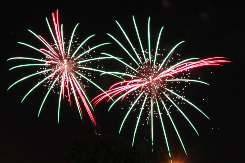 Ralston fireworks, July 2013.
