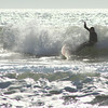Surfer near Pacific City, OR