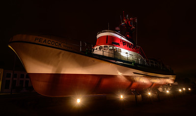 Peacock Pilot Boat, Astoria, Oregon