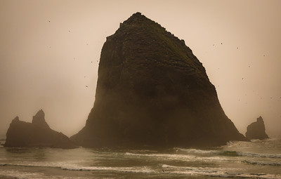 Haystack Rock and the Needles, Cannon Beach, Oregon