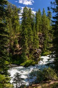 Benham Falls, Oregon