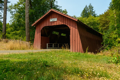 Drift Creek Covered Bridge, Oregon, Oregon