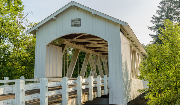 Hannah Covered Bridge, Oregon