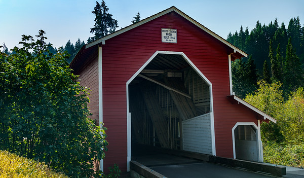 Office Covered Bridge, Oregon