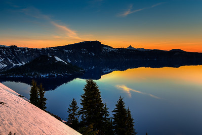 Sunrise, Crater Lake National Park, Oregon