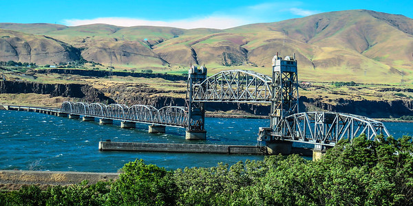 Railroad Bridge - Columbia River