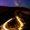 Rowena Crest Car Trail and Milky Way, Oregon