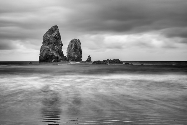 The Needles of Cannon Beach