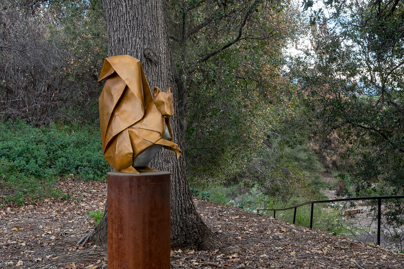 """Seed Sower"" by Kevin Box and origamist Michael G. LaFosse"