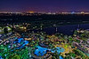 Orlando Moonshine and City Sky Glow