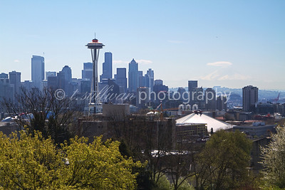 Seattle, as viewed from Kerry Park