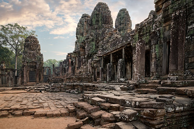 Bayon Temple, Angkor Wat Archaeological Park, Cambodia