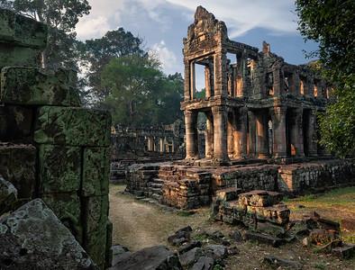 Preah Khan Temple, Angkor Wat Archaelogical Park, Cambodia