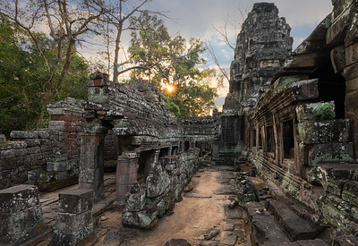 Banteay Kdei, Angkor Wat Archaeological Park, Cambodia