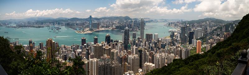Peak view, Hong Kong, SAR China