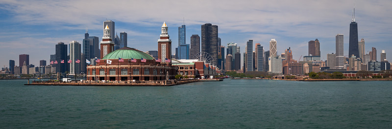 Navy Pier Terminal, Chicago, USA
